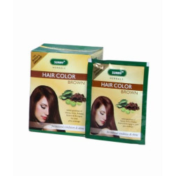 Baksons Sunny Herbal Hair Colour (Light Brown)