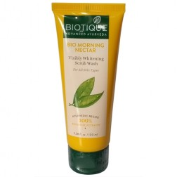 Bio Morning Nectar Visibly Whitening Scrub Wash