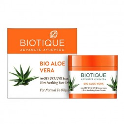 Biotique Aloevera Face & Body Suncream SPF 30 UVA/UVB