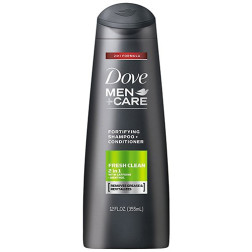 Dove Men+Care 2 In 1 Shampoo & Conditioner Fresh And Clean Fortifying
