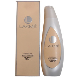 Lakme Fruit Moisture Daily Glow Lotion - Peach and Milk