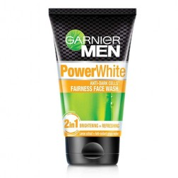 Garnier Men Power White Anti-Dark Cells Fairness Face Wash