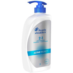 Head & Shoulders 2-in-1 Active Protect Anti Dandruff Shampoo + Conditioner - 650ml
