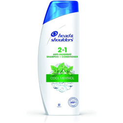 Head & Shoulders 2-in-1 Cool Menthol Anti Dandruff Shampoo + Conditioner - 340ml