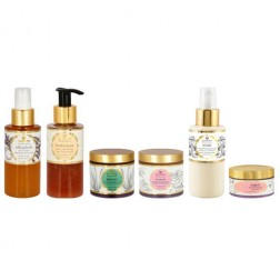 Just Herbs 6 Step 'Cream-Free' Organic Skincare Regime