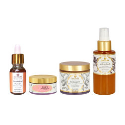 Just Herbs Ayurvedic Glow Boosting Bundle With Free Silksplash Face Wash