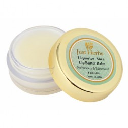 Just Herbs Liquorice Shea Lip Butter Balm