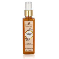 Just Herbs Pomegranate Mandarin Pore Refining Tonique