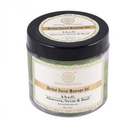 Khadi Aloevera Neem & Basil Face Massage Gel