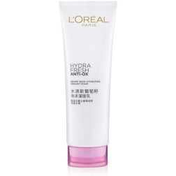 L'Oreal Paris Hydrafresh Anti-Ox Grape Seed Creamy Foam