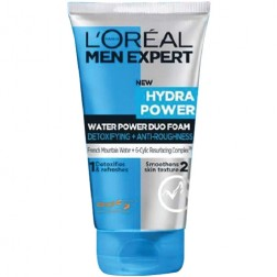L'Oreal Paris Men Expert Hydra Power Duo Foam Cleanser