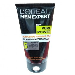 L'Oreal Paris Men Expert Pure Power Black Charcoal Foaming Gel Wash