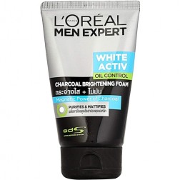 L'Oreal Paris Men Expert White Activ Oil Control Charcoal Foam
