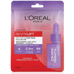 L'Oreal Paris Revitalift Essence Face Sheet Mask - Plumping and Hydrating