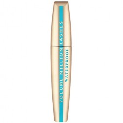 L'Oreal Paris Volume Million Lashes Mascara, Waterproof - Black