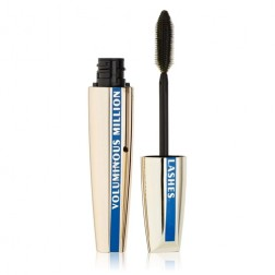 L'Oreal Paris Voluminous Million Lashes Waterproof Mascara - Blackest Black