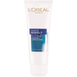 L'Oreal Paris White Perfect Milky Foam Facewash
