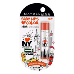 Maybelline Baby Lips Alia Loves New York - Brooklyn Bronze