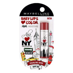 Maybelline Baby Lips Alia Loves New York - Highline Wine