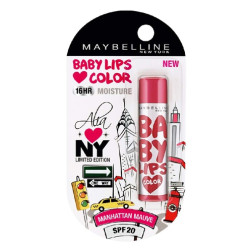 Maybelline Baby Lips Alia Loves New York - Manhattan Mauve