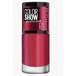 Maybelline Color Show Big Apple Nail Paint R1 Paint The Town Red