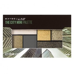 Maybelline New York City Mini Palette Eye Shadows - Urban Jungle