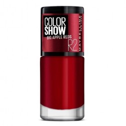 Maybelline New York Color Show Big Apple Nail Paint - Big Apple Red