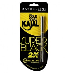 Maybelline New York Colossal Kajal Super Black