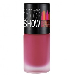 Maybelline New York Colour Show Bright Matte Nail Paint - Peppy Pink