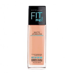 Maybelline New York Fit Me Matte Plus Pore less Liquid Foundation - 320 Natural Tan