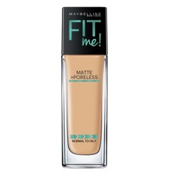 Maybelline New York Fit Me Matte+Poreless Liquid Foundation (With Pump) - 228 Soft Tan