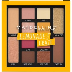 Maybelline New York Lemonade Craze Eye Shadow Palette - Multicolour