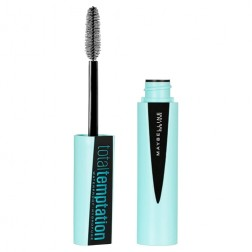 Maybelline New York Total Waterproof Temptation Masacara - Very Black