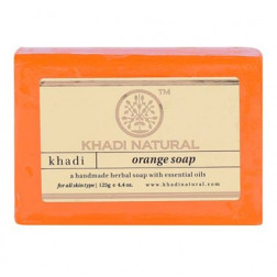 Orange Ayurvedic Handmade Herbal Soap