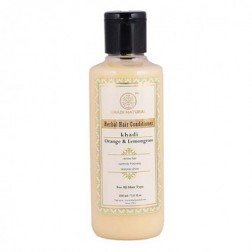 Orange Lemongrass Herbal Conditioner - Khadi