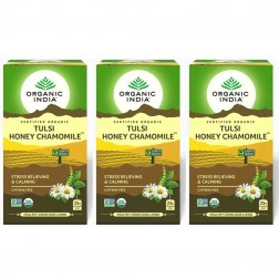 Organic India Tulsi Honey Chamomile Tea Bags