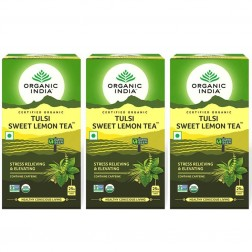 Organic Tulsi Sweet Lemon Tea