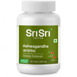 Sri Sri Ayurveda Ashwagandha Tablets - Stress Reduction
