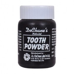 J & J DeChane Tooth Powder
