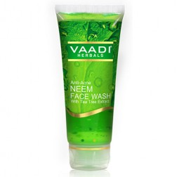 Vaadi Herbals Anti-Acne Neem Face Wash With Tea Tree Extract