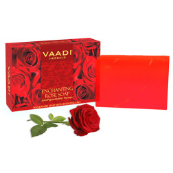 Vaadi Herbals Enchanting Rose Soap