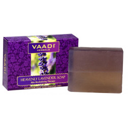 Vaadi Herbals Heavenly Lavender Soap with Rosemary Extract