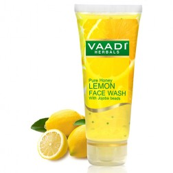 Vaadi Herbals Honey Lemon Face Wash with Jojoba Beads