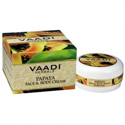 Vaadi Herbals Papaya Face & Body Cream